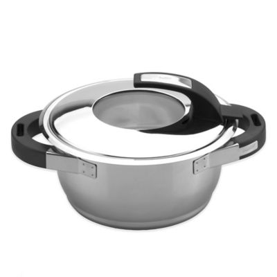 BergHOFF® Virgo 6-Inch Covered Casserole in Stainless Steel