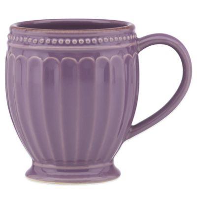 Lenox® French Perle Groove Mug in Lavender