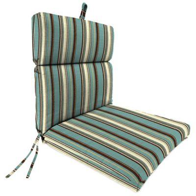 Sunbrella® 44-Inch x 22-Inch Dining Chair Cushion in Carnegie Celeste