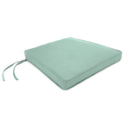 18-Inch x 20-1/2-Inch Trapezoid Chair Cushion in Sunbrella® Canvas Spa