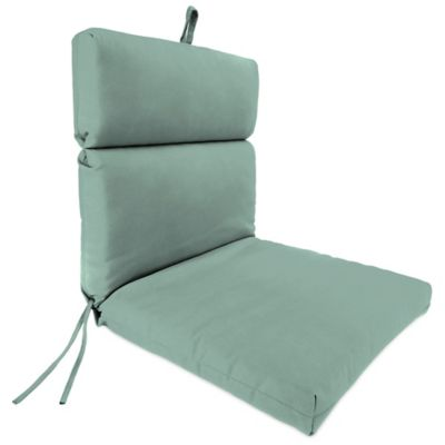 Sunbrella® 44-Inch x 22-Inch Dining Chair Cushion in Canvas Spa