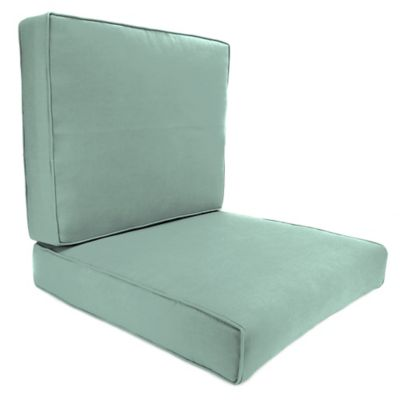 45-Inch x 25-Inch 2-Piece Deep Seat Chair Cushion in Sunbrella® Canvas Spa