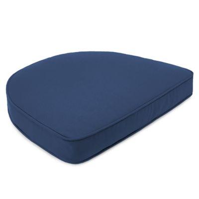 Sunbrella® 19-1/2-Inch x 19-1/2-Inch Dining Chair Cushion in Canvas Navy