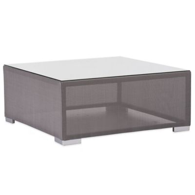 Zuo® Clear Water Bay Coffee Table in Grey