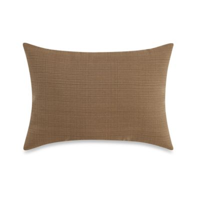 12-Inch x 16-Inch Outdoor Oblong Throw Pillow in Camel