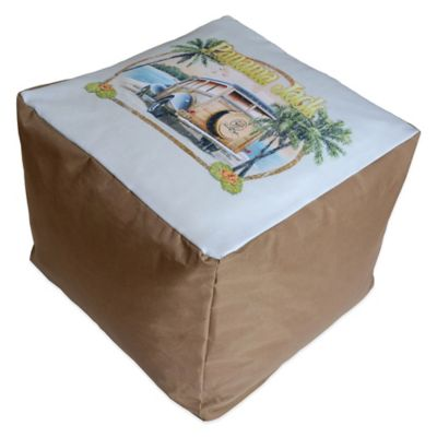Panama Jack No Problems Outdoor Pouf Ottoman
