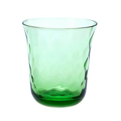 Padma Optic Double Old Fashioned Glass in Coriander