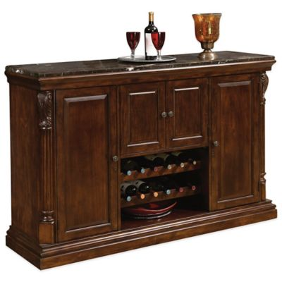 Howard Miller Niagra Console in Rustic Cherry