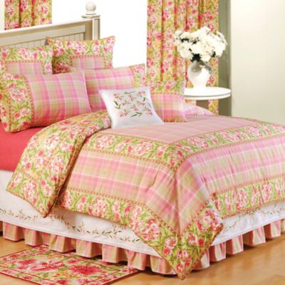 Primavera Reversible Full/Queen Duvet Cover