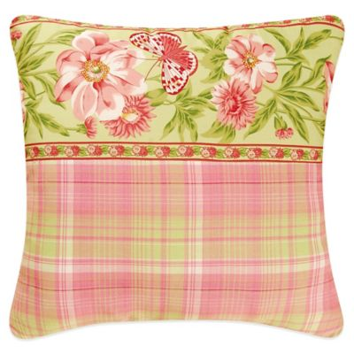 Primavera Square Throw Pillow
