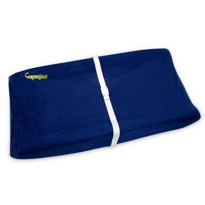 NoJo® Alligator Blues Changing Pad Cover