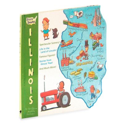 State Shapes: Illinois by Erik Bruun