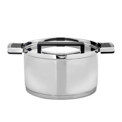 BergHOFF® Neo 6.25-Inch Stainless Steel Covered Casserole