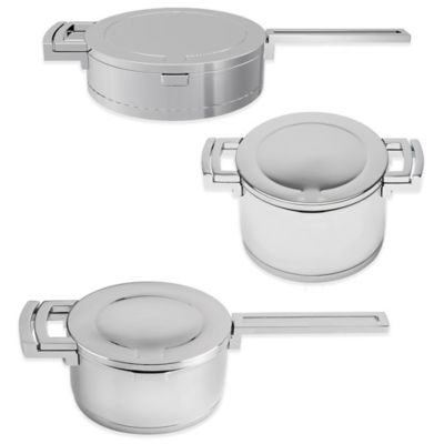 BergHOFF® Neo 6-Piece Stainless Steel Cookware Set