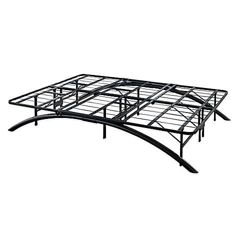 Buy E Rest Queen Arch Metal Platform Bed Frame In Black