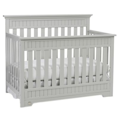 Fisher-Price® Lakeland 4-in-1 Convertible Crib in Misty Grey