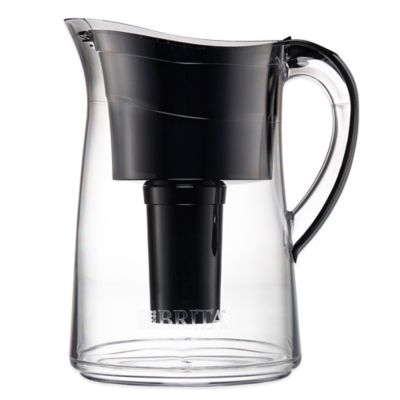 Brita® Capri 10-Cup Water Filter Pitcher in Black