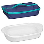 CorningWare® French White® 3 qt. Baking Dish with Lid and Portable Case