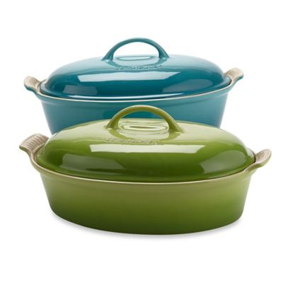 Le Creuset® 4-Quart Oval Covered Casserole in Palm