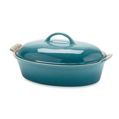 Le Creuset® 4-Quart Oval Covered Casserole in Caribbean