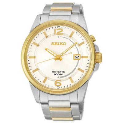 Seiko Men's 41mm Kinetic Watch Men's Watches
