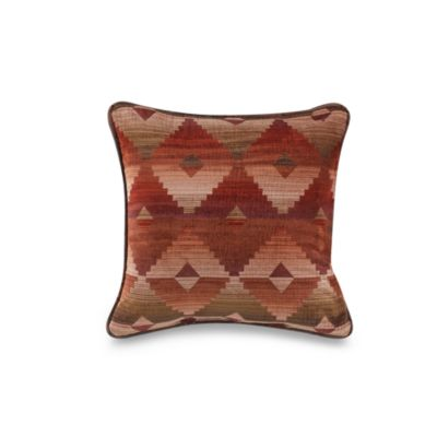 Santa Fe 18-Inch Square Toss Pillow