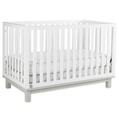 Fisher-Price® Riley Island 3-in-1 Convertible Crib in Snow White/Misty Grey