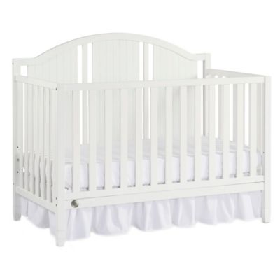 Fisher-Price® Caitlin 4-in-1 Convertible Crib in Snow White