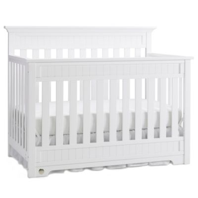 Fisher-Price® Lakeland 4-in-1 Convertible Crib in Snow White