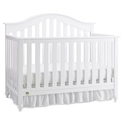 Fisher-Price® Kingsport 4-in-1 Convertible Crib in Snow White