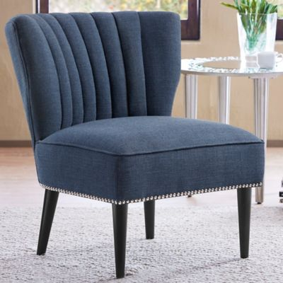 Madison Park Korey Chair in Grey