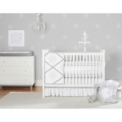 Medallions 3-Piece Crib Bedding Set
