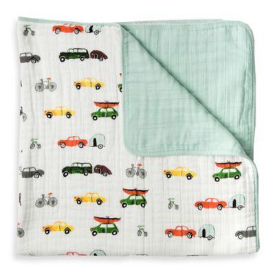 Little Unicorn Traffic Jam Cotton Muslin Quilt