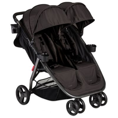Combi® Fold N Go Double Stroller in Black