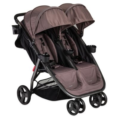 Combi® Fold N Go Double Stroller in Caribou