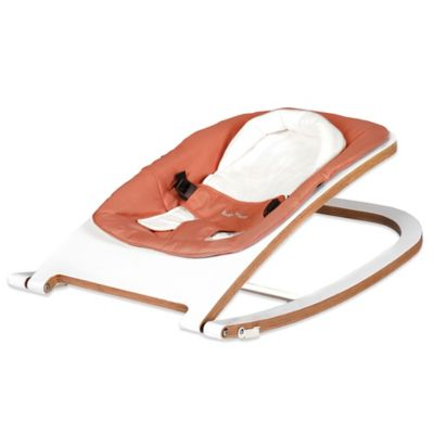 babyhome® Wave Rocker in White/Clay
