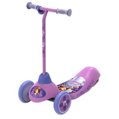 Disney® Sofia the First Safe Start 3-Wheel Electric Scooter
