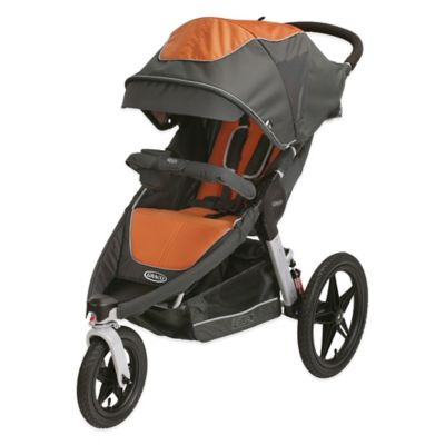 Graco® Relay™ Click Connect™ Performance Jogging Stroller in Tangerine™