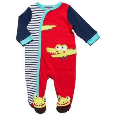 Nuby™ Size 3-6M Baby Alligator Footie