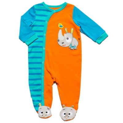 Nuby™ Size 6-9M Baby Rhino Footie