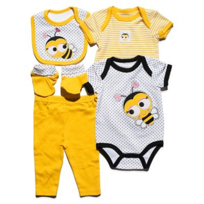 Nuby™ Baby Bee Size 6-9M 5-Piece Set