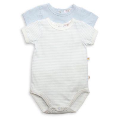 Size 6-9M 2-Pack Short-Sleeve Bodysuit in Blue