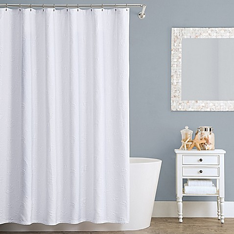 Buy Lamont Home Seaspray 72 Inch X 84 Inch Cotton Shower Curtain From Bed Bath Beyond