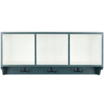Safavieh Alice Wall Shelf in Steel/White