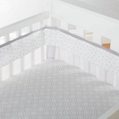 Just Born® Ruffled Medallions Fresh Air™ Crib Liner