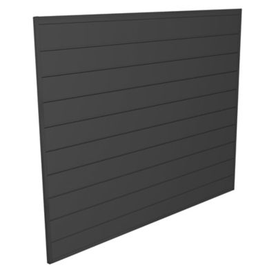 Proslat 4-Foot x 4-Foot Wall Panel Kit in Charcoal