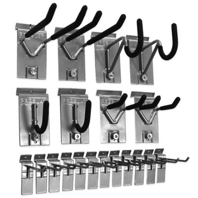 Proslat 20-Piece Hook Kit in Silver