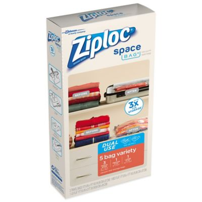Ziploc® Space Bag® 5-Piece Variety Set