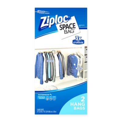 Ziploc Space Bag Closet Storage