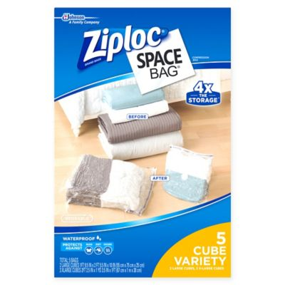Ziploc Space Bag Combo Set